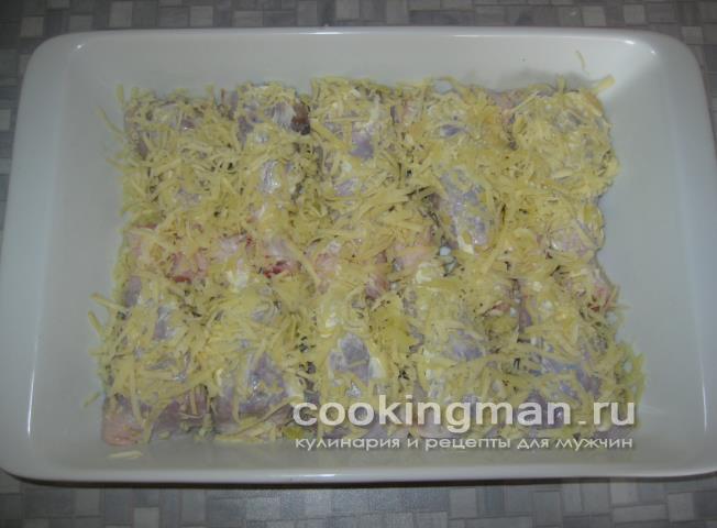 Фаршированные куриные голени - Кулинария для мужчин