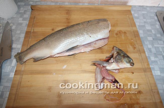 Рыба с розмарином и лимоном, запечённая в духовке. Щокур (чир) в ... | 432x652
