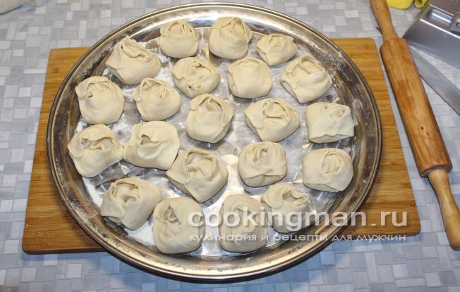 Манты из индейки в паназиатском стиле – кулинарный рецепт