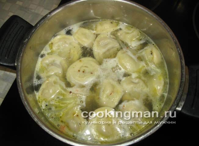 Пельмени с грибами - Кулинария для мужчин