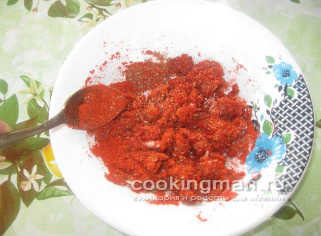 Острое мясо – кулинарный рецепт