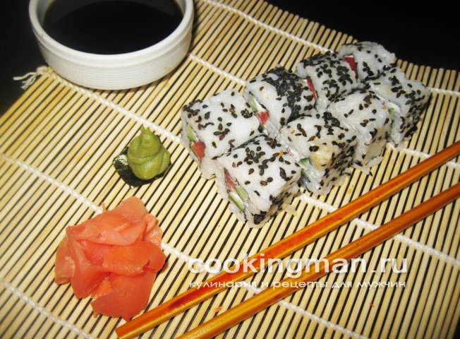 Полу-суши и недо-роллы – кулинарный рецепт