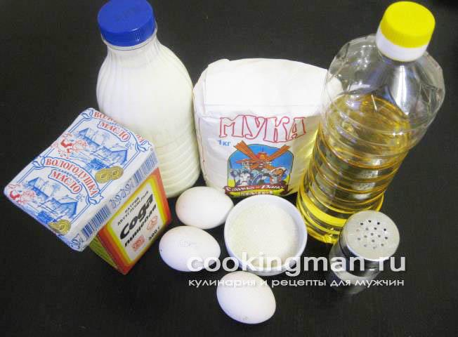 Блины на 1 литр молока - пошаговый рецепт с фото 15