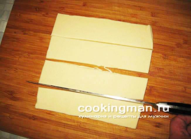 Сосиски в слоеном тесте с сыром рецепт в духовке 163