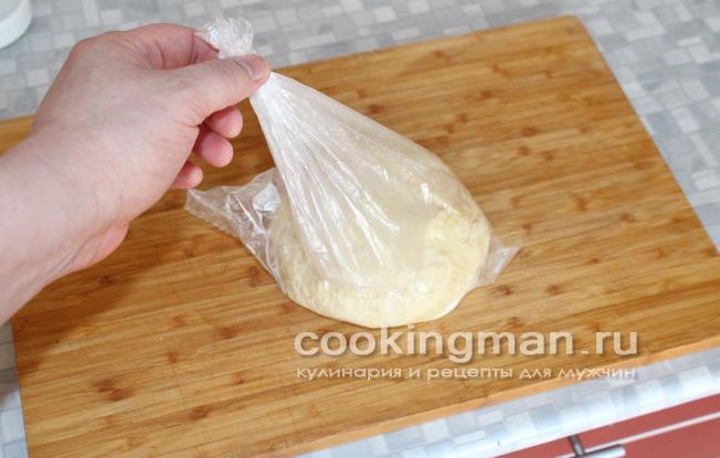 Дрожжевое тесто в пакете для пирожков