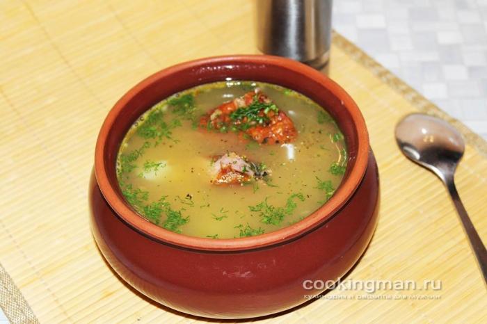 Рецепт очень вкусного сырного супа