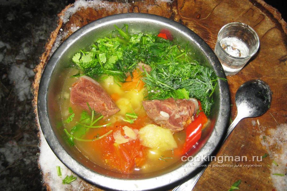 суп из лосятины рецепт с фото
