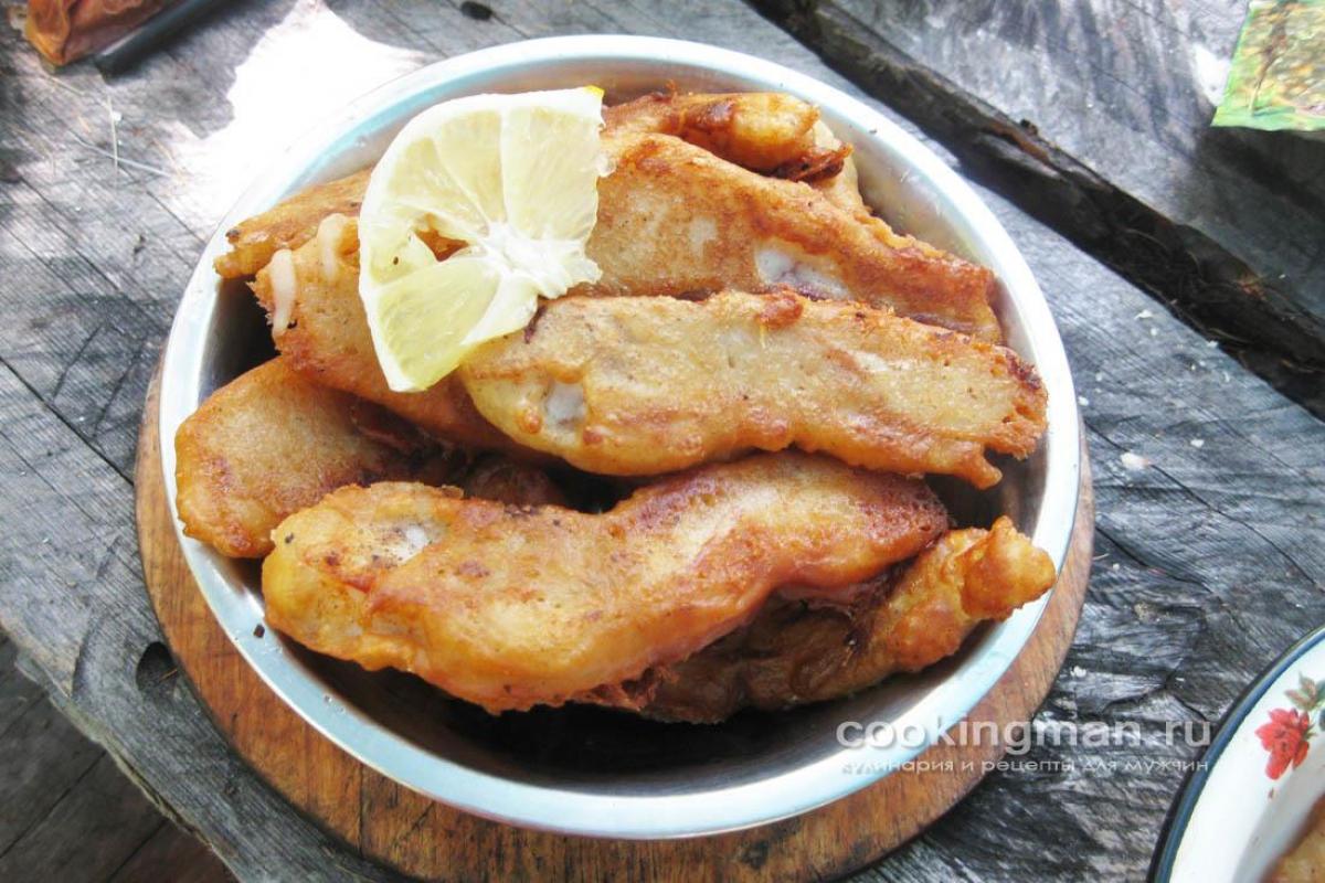 Кляр для рыбы с водкой простой рецепт с фото