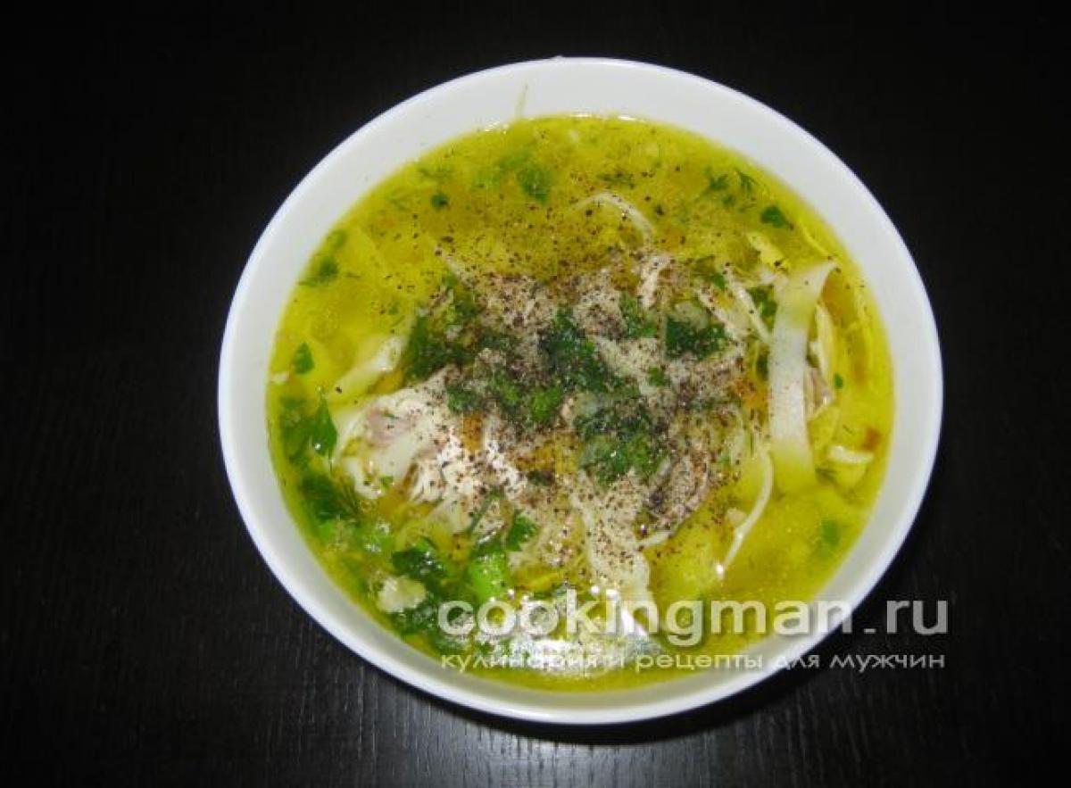 Как сделать куриный суп фото 574