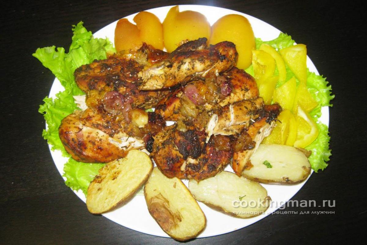 рецепты из филе куриных грудок в духовке