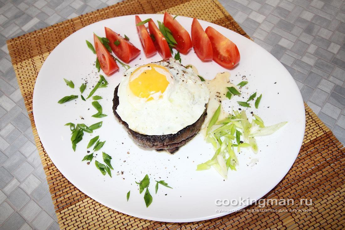 Бифштекс рубленый из оленины