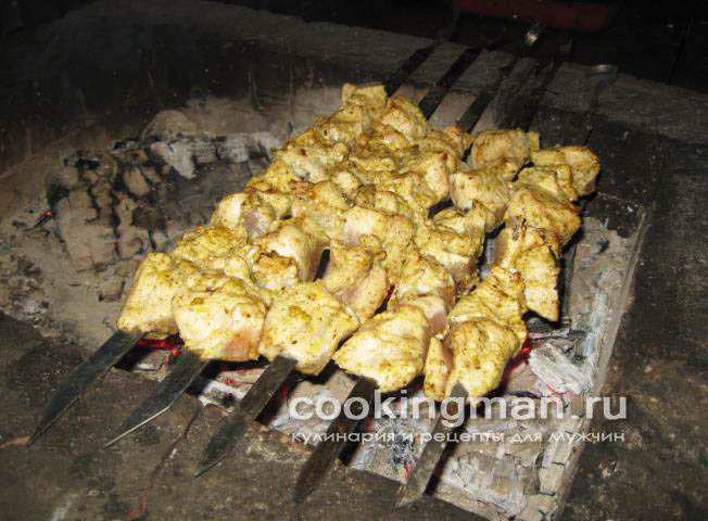 рецепт шашлыка из индейки