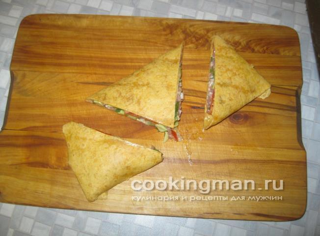 Рецепты из тортильи с начинкой рецепт пошаговый