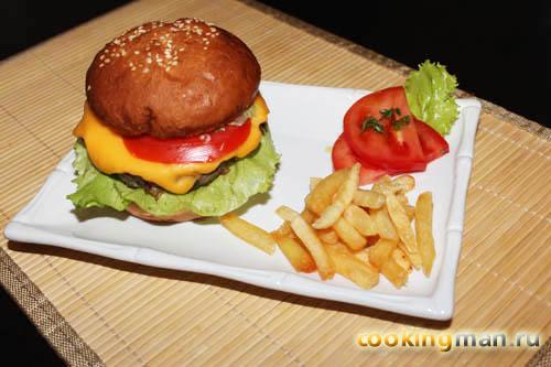 Рецепт гамбургера как в макдоналдс с фото