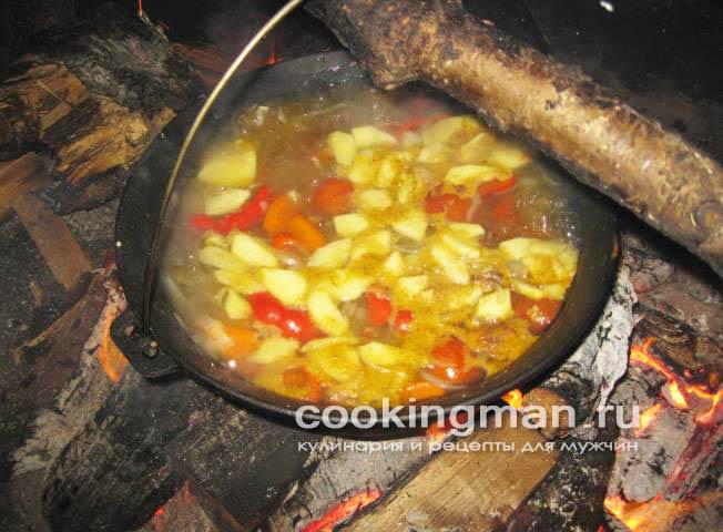 как приготовить суп из мяса косули