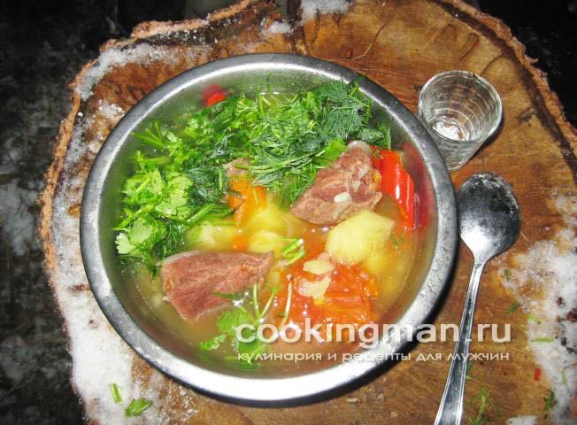 Як варити їсти суп із дикої качки ідея