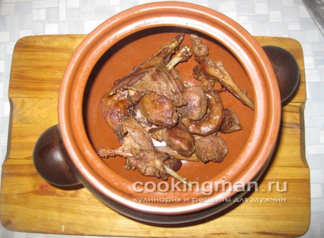 Рецепт блюд из дикой утки