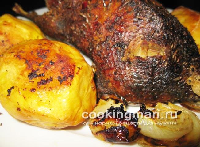 Свиная рулька по-баварски, пошаговый рецепт с фото.