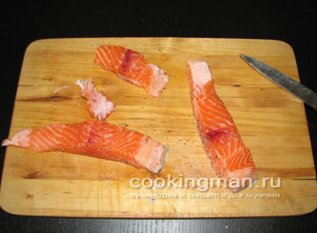 запеченная рыба стейки в фольге в духовке рецепт