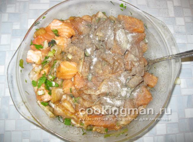 Семга в горшочках рецепты с фото