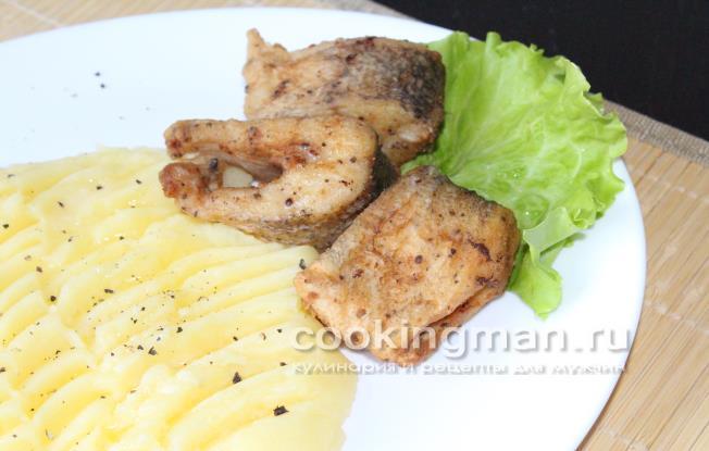 Щука рецепт на сковороде с пошагово