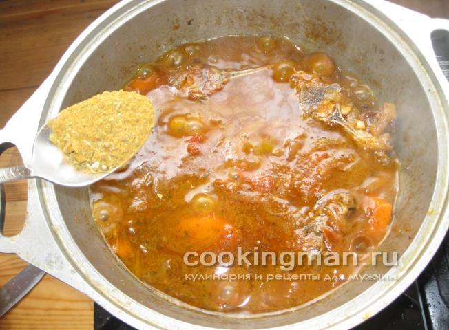 баранина тушеная с овощами рецепты приготовления