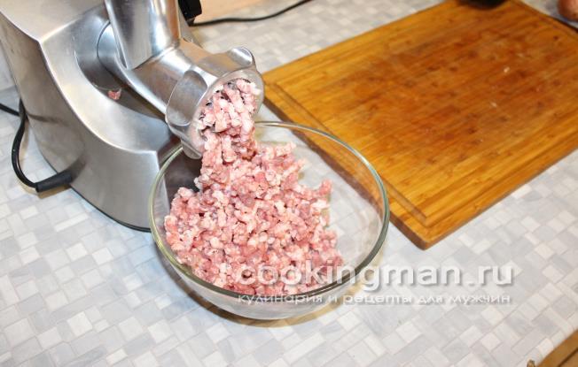 Как можно сделать фарш если нет мясорубки