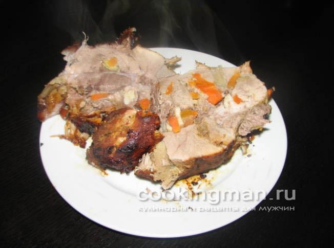 как запечь окорок свиной в духовке рецепт