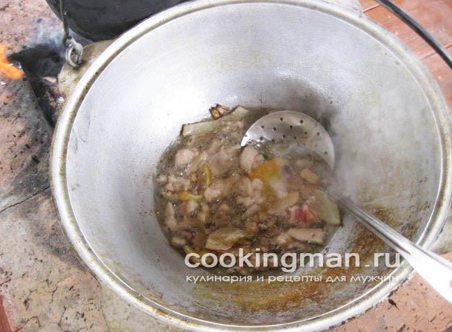 Рецепт плова со свининой пошаговый рецепт