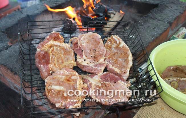 Корейка из свинины шашлык рецепт