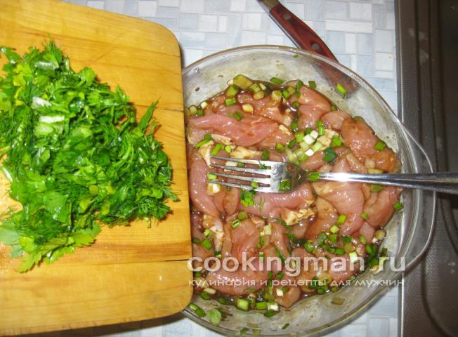 Свинина с луком и морковью рецепт пошагово