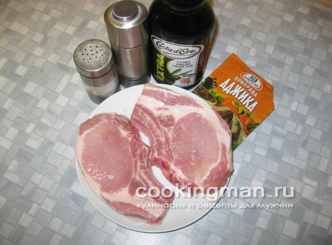 рецепт свиных котлет