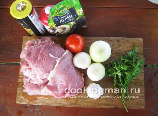рецепт свиных котлет с булкой