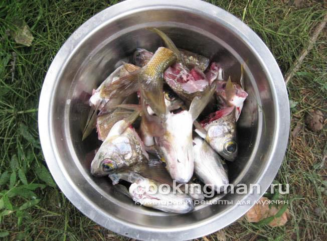 рецепт рыбного супа с головы красной рыбы рецепт