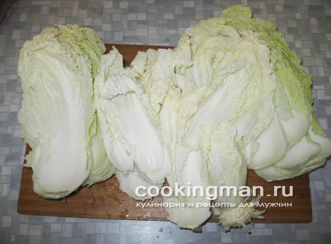 салат пекинская капуста сухарики