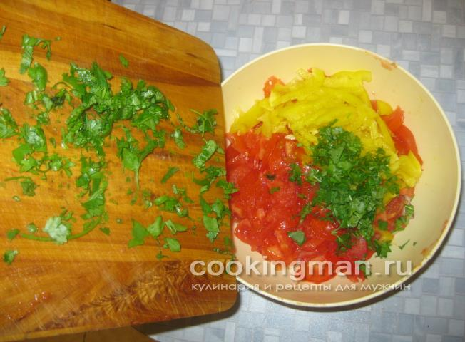 Салаты к плову рецепт с пошагово