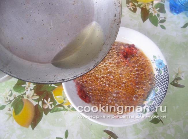 Рецепт соус к лагману