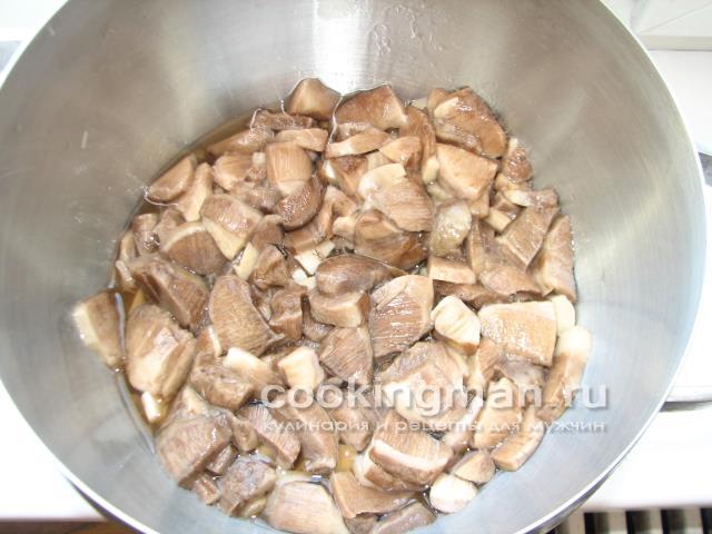 кулинария рецепты суп с грибами