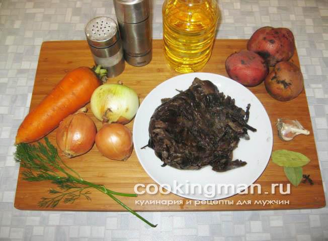 простой грибной суп рецепт из опят