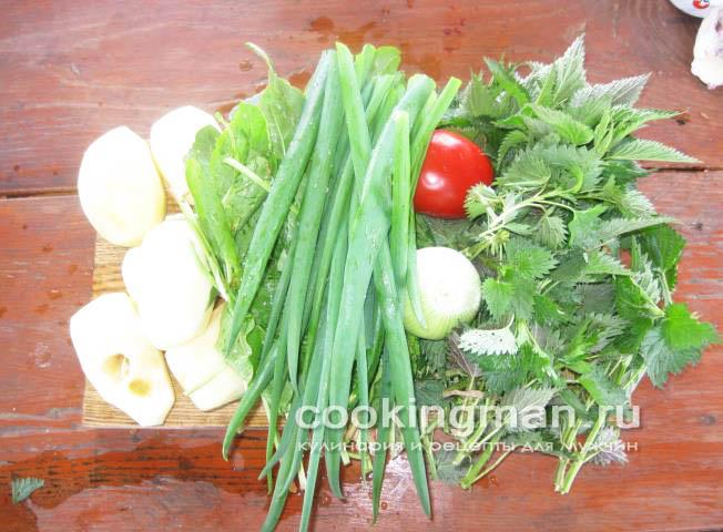 рецепт зеленого супа из щавеля
