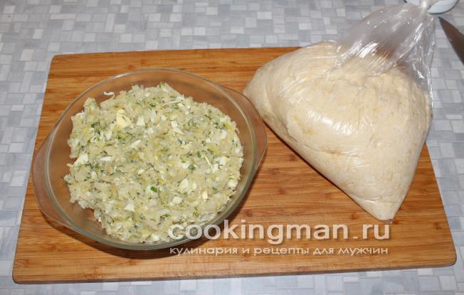 Осетинский пирог с капустой рецепт с фото