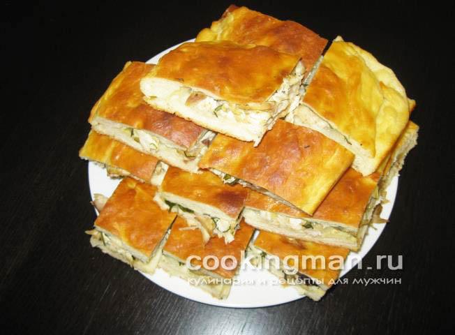 рецепт вкусного пирога с курицей