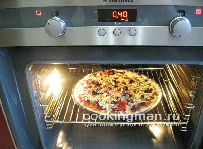 рецепт пиццы с солями