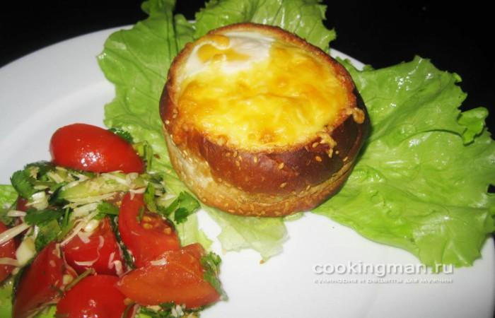 Бутерброды в булочках рецепт с фото