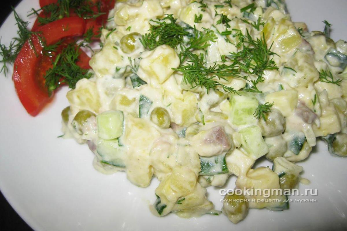 Салат с селедкой рецепты с простые