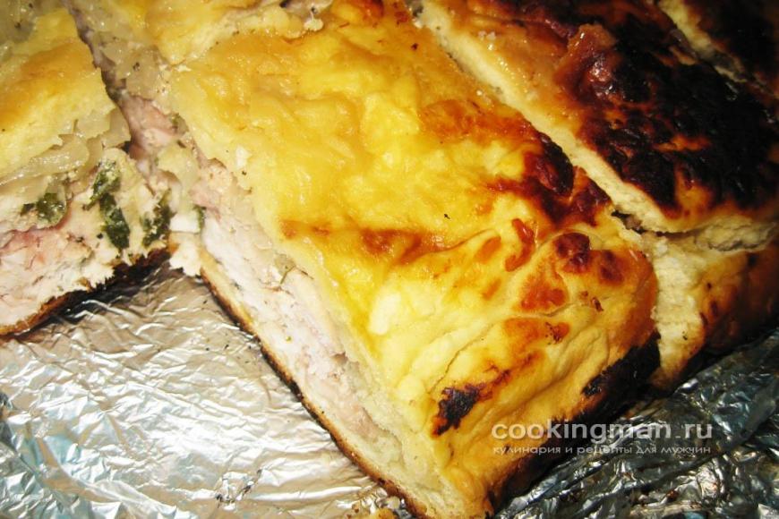 Пироги с картошкой быстрыеы с фото