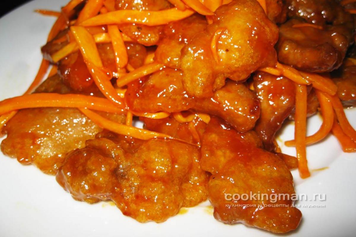 рецепты второго из мяса свинины