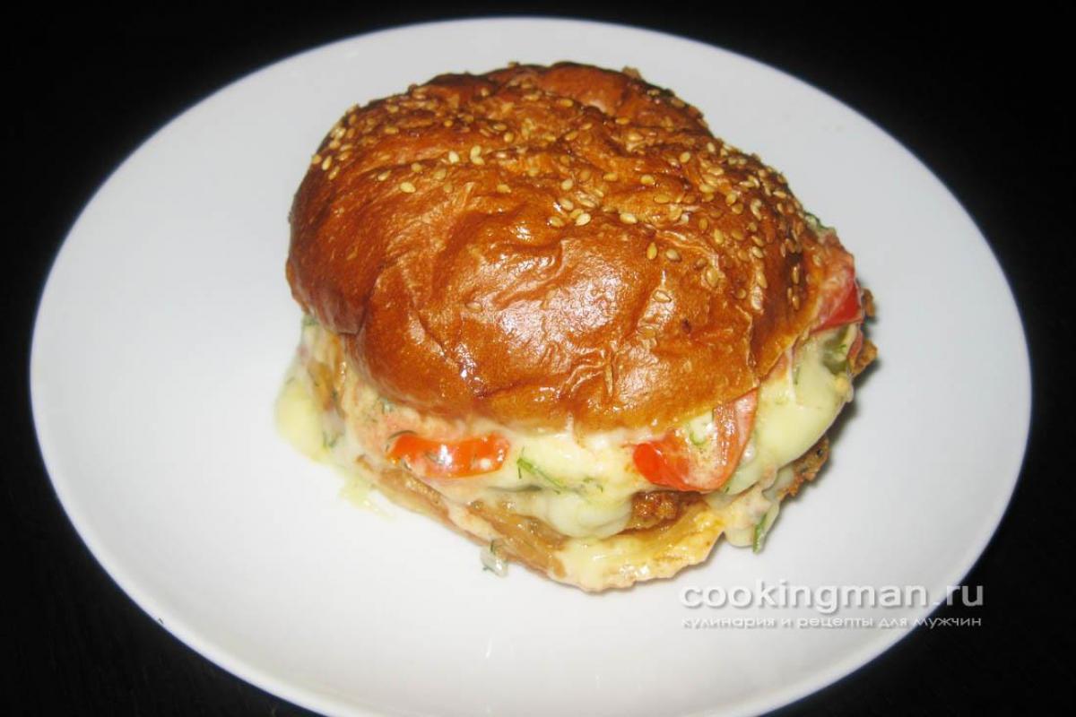 рецепт котлеты из гамбургера из макдональдса