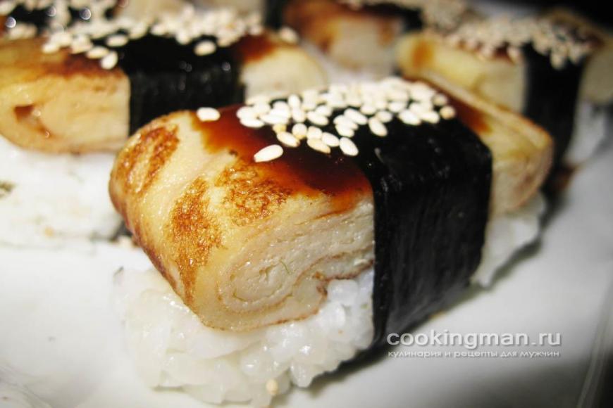 Японский омлет для роллов рецепт