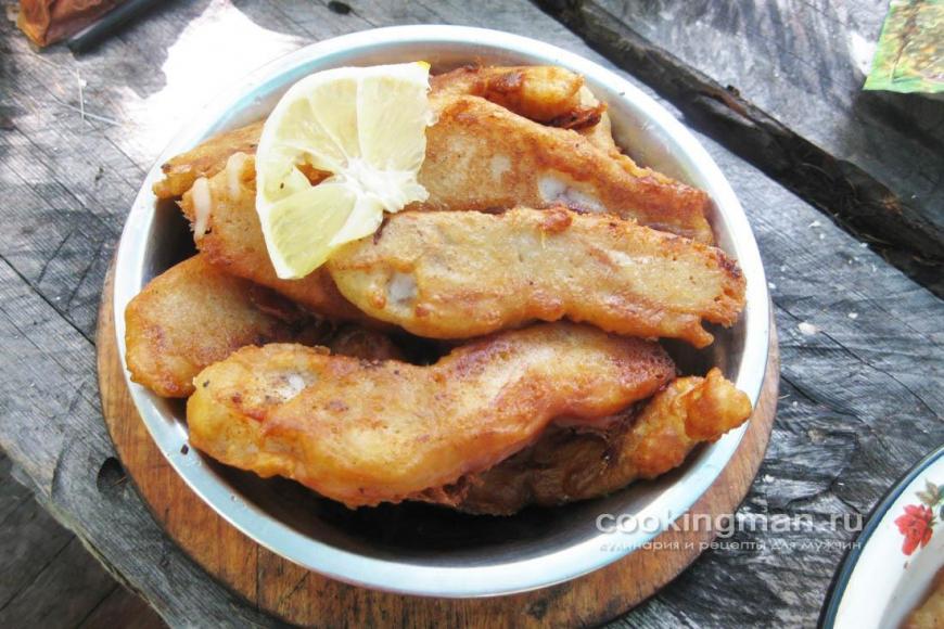 рыба в кляре из пива рецепт с фото